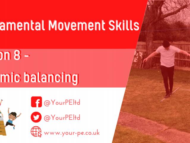 FMS lesson 8 - Dynamic balancing