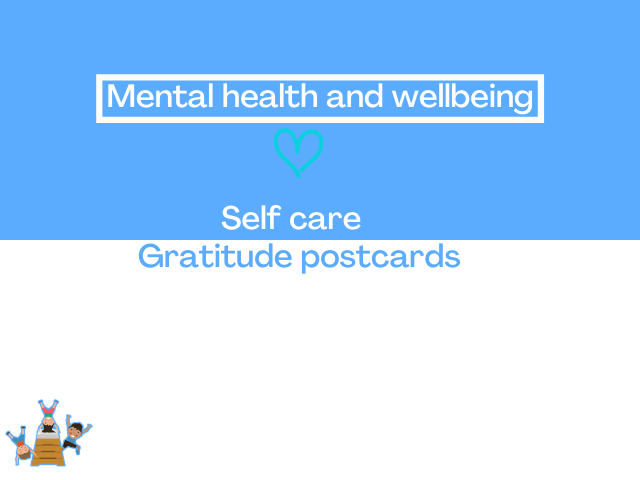 Gratitude postcards