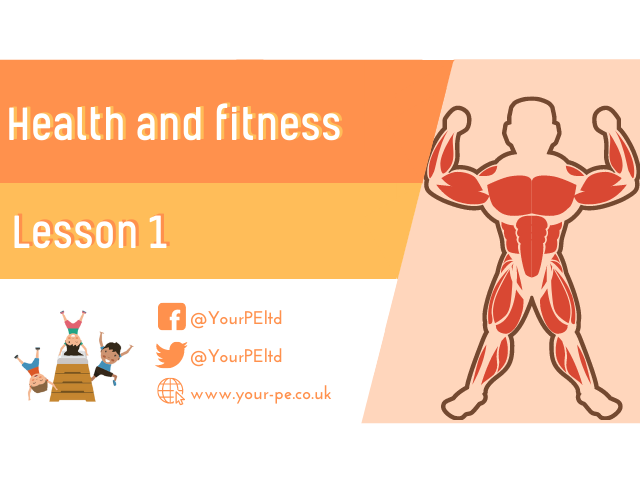 Health and fitness - Lesson 1