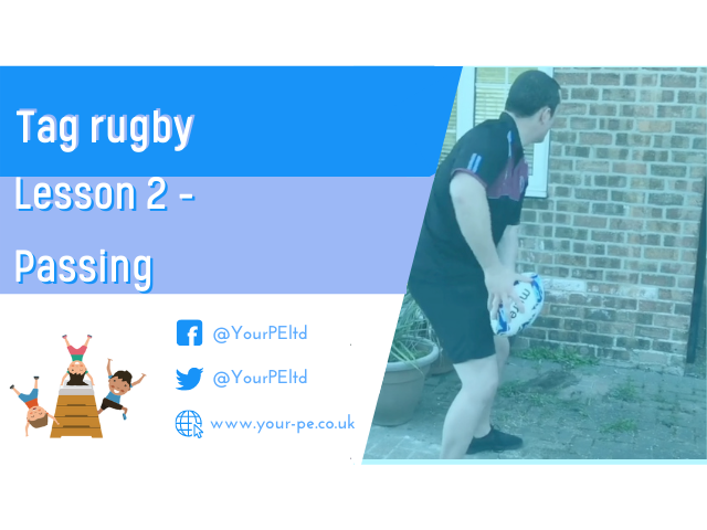 Tag rugby lesson 2 - Passing