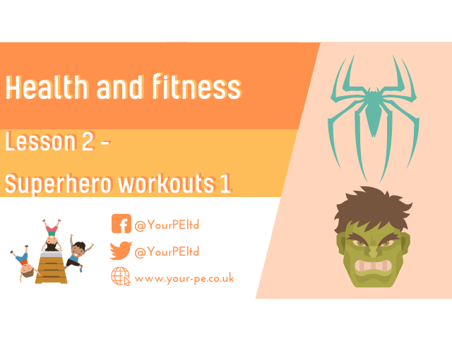Health and fitness lesson 2
